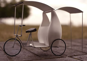 solar-cool-tricycle-with-cooling-system