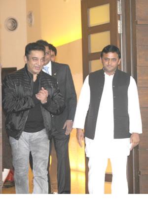 up-cm-akhilesh-yadav-with-actor-kamal-hasan