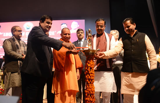 union-minister-shri-nitin-gadkari-with-other-distingushed-guests-inaugurating-the-conference-by-lighting-the-lamp